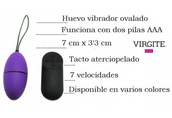 VIRGITE HUEVO VIBRADOR G2